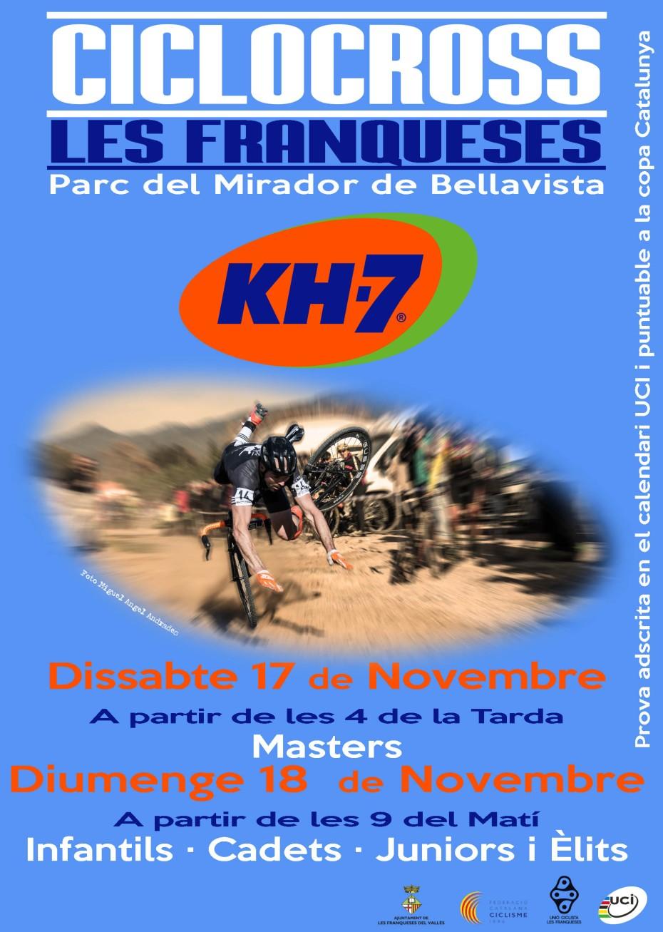 Poster GP Les Franqueses KH7 2018